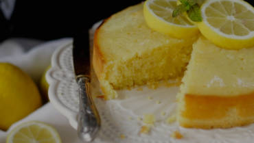 Lemon Cake all'Olio di Oliva